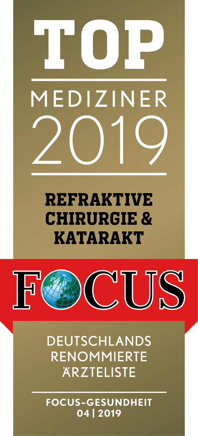 Focus Siegel Top Mediziner 2019 | Augenzentrum.ONE