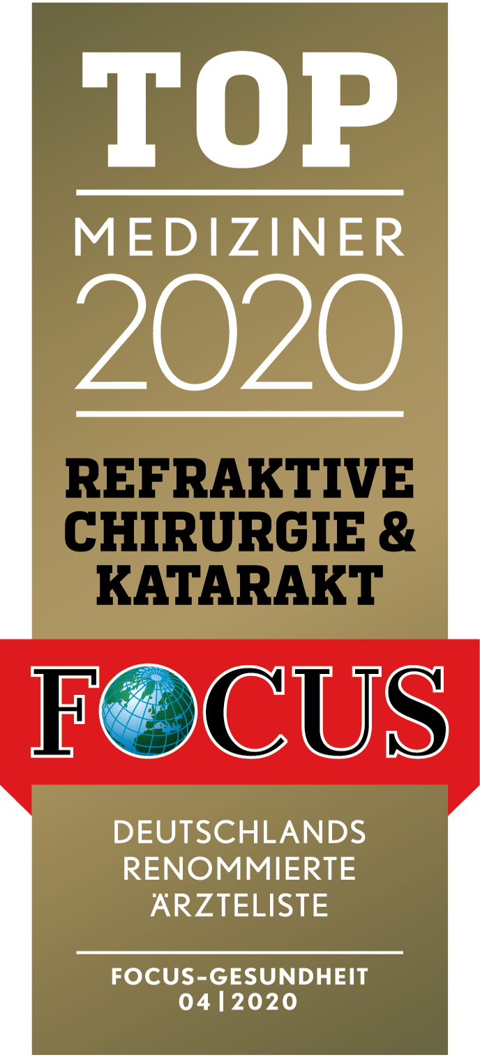 Focus Siegel Top Mediziner 2020 | Augenzentrum.ONE